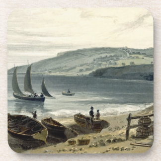Lyme Regis, from Charmouth, Dorset, from 'A Voyage Coaster
