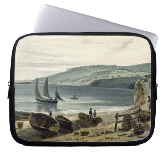 Lyme Regis, from Charmouth, Dorset, from 'A Voyage Laptop Sleeve