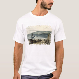 Lyme Regis, from Charmouth, Dorset, from 'A Voyage T-Shirt