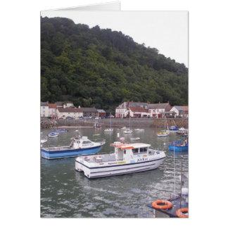 Lyme Regis Harbour, Devon Card