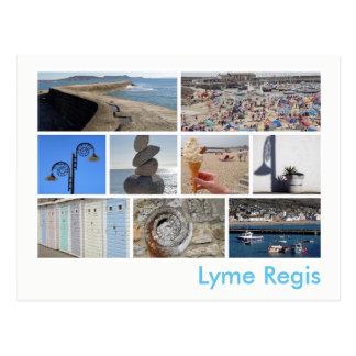 Lyme Regis multi-image Postcard