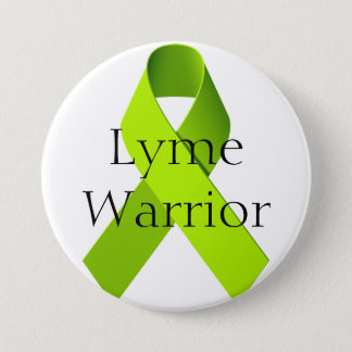 Lyme Warrior 7.5 Cm Round Badge