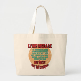 Lyme - Your Doctor May Not Treat You Jumbo Tote Bag