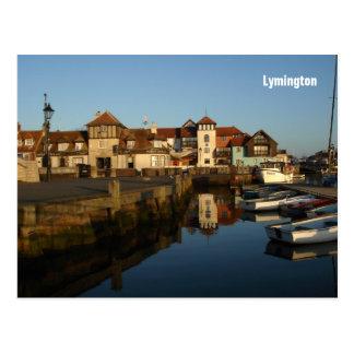 Lymington postcard