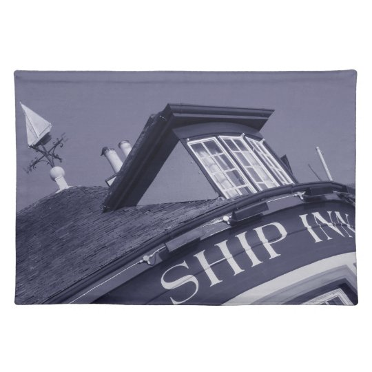 Lymington Ship Inn placemat