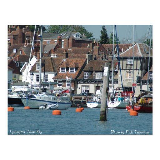 Lymington Town Key Post Card