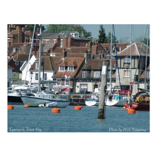 Lymington Town Key Postcard