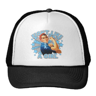 Lymphedema Vintage Rosie Fight Like A Girl Hats