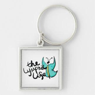 Lymphie Life Butterfly Keychain