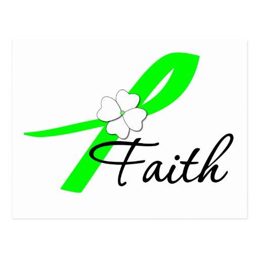 Lymphoma Awareness Faith Post Cards