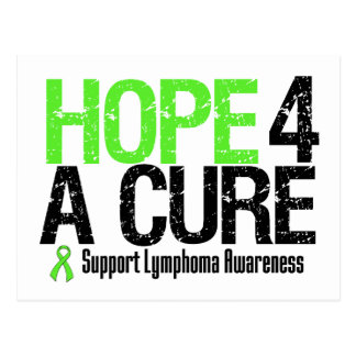 Lymphoma Awareness Hope For A Cure Postcard
