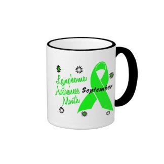 Lymphoma Awareness Month Flowers 1 Coffee Mug