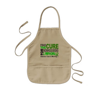 Lymphoma Awareness Non-Hodgkins FIND THE CURE 1 Aprons