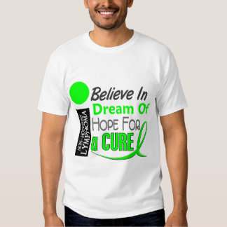 Lymphoma Awareness NonHodgkins BELIEVE DREAM HOPE Shirts