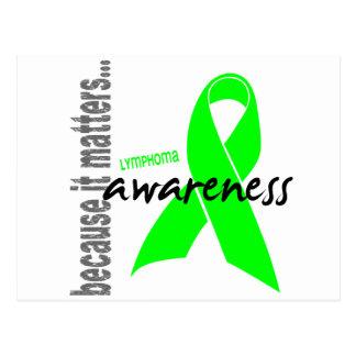 Lymphoma Awareness Postcard