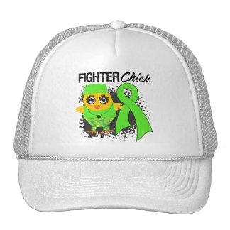 Lymphoma Cancer Fighter Chick Grunge Trucker Hats