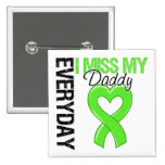 Lymphoma Everyday I Miss My Daddy Buttons