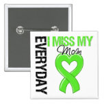 Lymphoma Everyday I Miss My Mum Buttons
