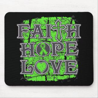 Lymphoma Faith Hope Love Mouse Pad