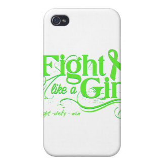 Lymphoma Fight Like A Girl Elegant Covers For iPhone 4