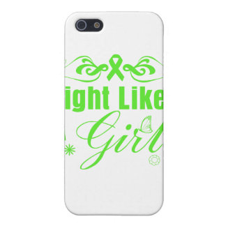 Lymphoma Fight Like A Girl Ornate iPhone 5 Cover