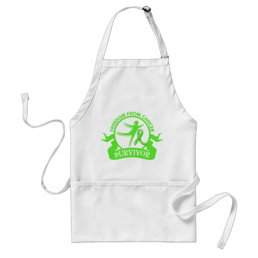 Lymphoma - Freedom From Cancer Survivor.png Adult Apron