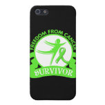 Lymphoma - Freedom From Cancer Survivor.png iPhone 5 Cover