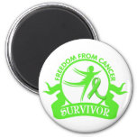 Lymphoma - Freedom From Cancer Survivor.png Magnet
