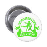 Lymphoma - Freedom From Cancer Survivor.png Pins