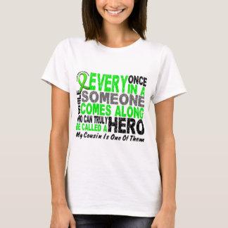 Lymphoma HERO COMES ALONG Cousin T-Shirt