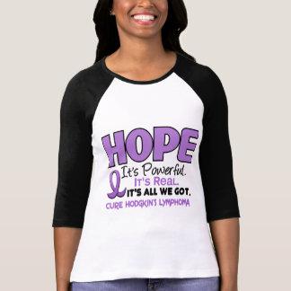Lymphoma Hodgkin's HOPE 1 T-Shirt