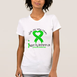 LYMPHOMA I Support My Brother-In-Law Tshirt