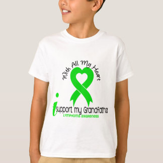 LYMPHOMA I Support My Grandfather T-Shirt