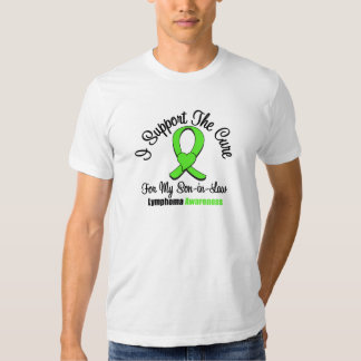 Lymphoma I Support The Cure For My Son Tshirts