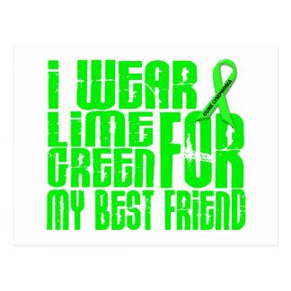 Lymphoma I WEAR LIME GREEN 16 Best Friend Postcard