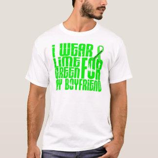 Lymphoma I WEAR LIME GREEN 16 Boyfriend T-Shirt