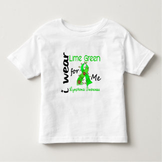 Lymphoma I Wear Lime Green For ME 43 Toddler T-Shirt