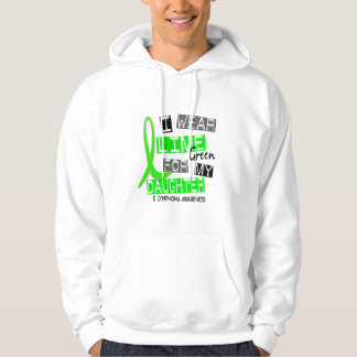 Lymphoma I Wear Lime Green For My Daughter 37 Hoodie