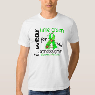 Lymphoma I Wear Lime Green For My Granddaughter 43 Shirts