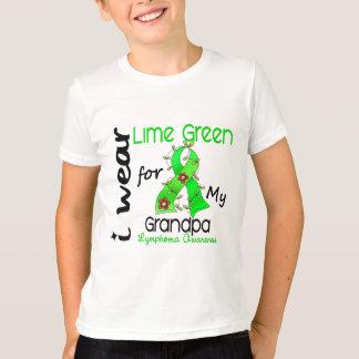 Lymphoma I Wear Lime Green For My Grandpa 43 T-shirts