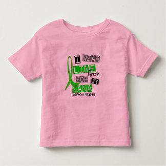 Lymphoma I Wear Lime Green For My Nana 37 T Shirts