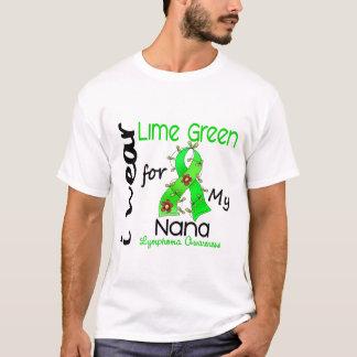 Lymphoma I Wear Lime Green For My Nana 43 T-Shirt