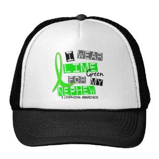 Lymphoma I Wear Lime Green For My Nephew 37 Hat
