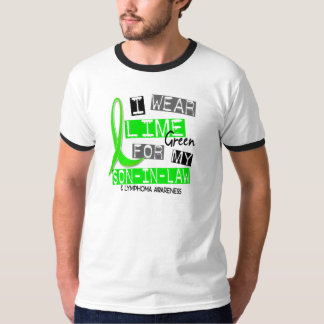 Lymphoma I Wear Lime Green For My Son-In-Law 37 T-Shirt