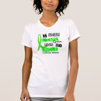 Lymphoma I Wear Lime Green For My Uncle 37 T-Shirt