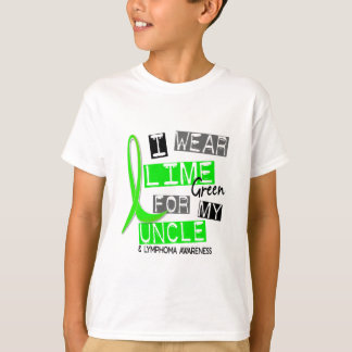 Lymphoma I Wear Lime Green For My Uncle 37 Tshirts