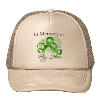 Lymphoma In Memory of My Hero Mesh Hats