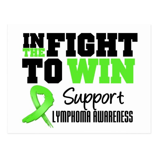 Lymphoma In The Fight To Win Postcards