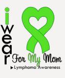 Lymphoma Lime Green Heart Support Mum