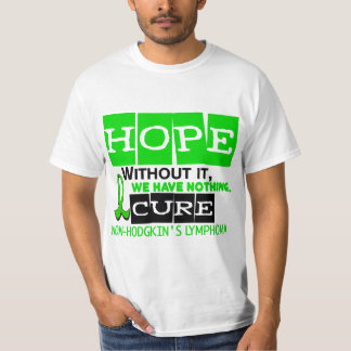 Lymphoma Lime Green HOPE 2 Non-Hodgkin's T-Shirt
